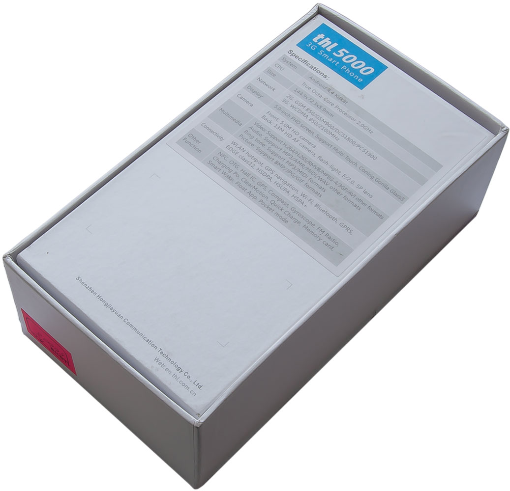 THL 5000 - Упаковка