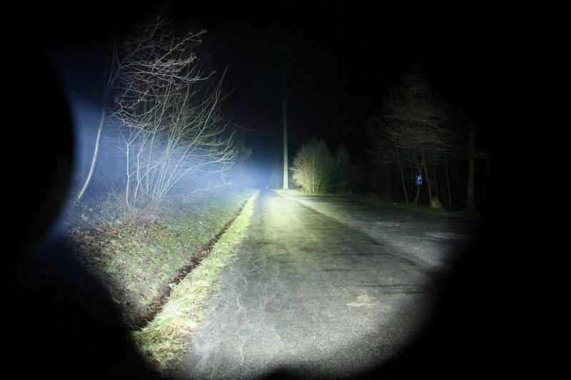 Тестирование фонарей