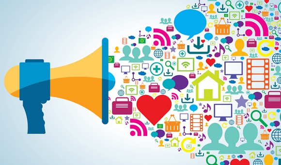 communication and promotion strategy with social media