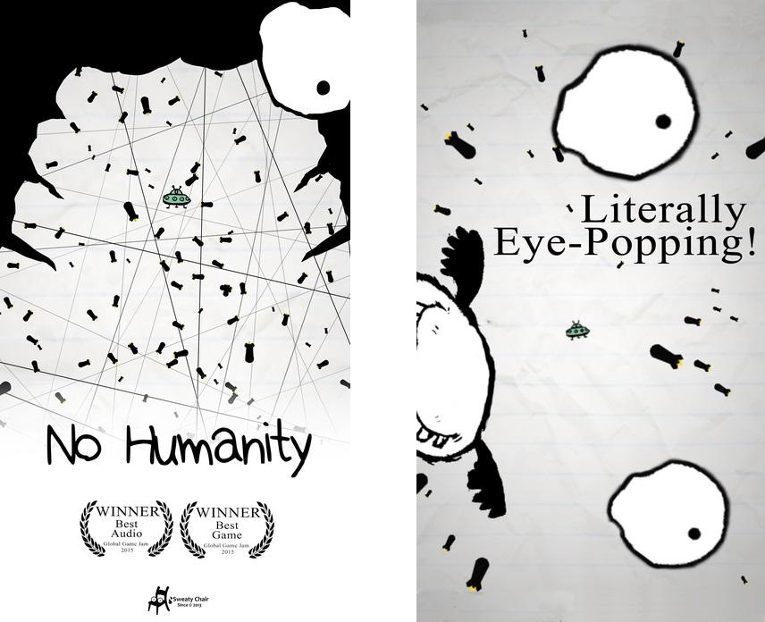 Топ-10 приложений для iOS и Android (10 - 16 апреля) - No Humanity (1)