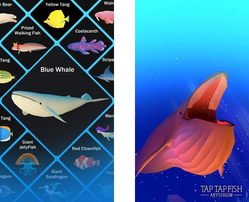 Топ-10 приложений для iOS и Android (10 - 16 апреля) - Tap Tap Fish (1)
