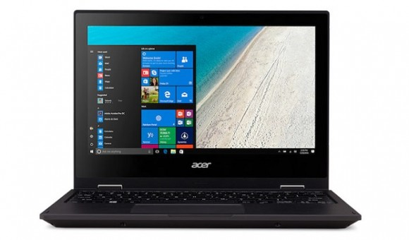 TravelMate Spin B1 — ноутбук-трансформер от Acer с прочным корпусом