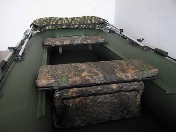 Тюнинг надувной лодки