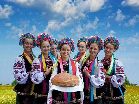 Украина -хлебосольная страна