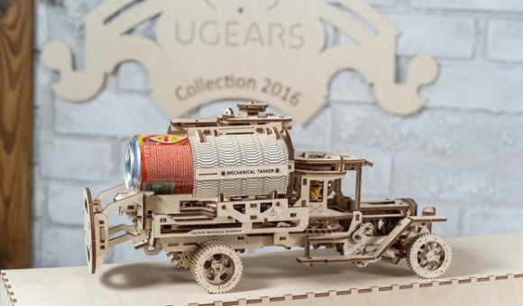 Украинский стартап 3D-пазлов UGEARS снова вышел на Kickstarter