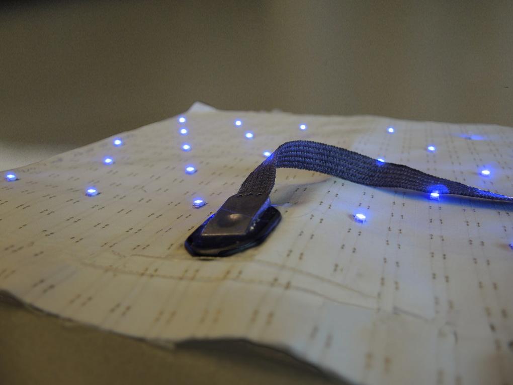 Умная ткань с вмонтированными чипами-технологии в медицине