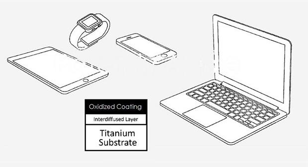 Устройства Apple могут получить титановые корпуса - фото