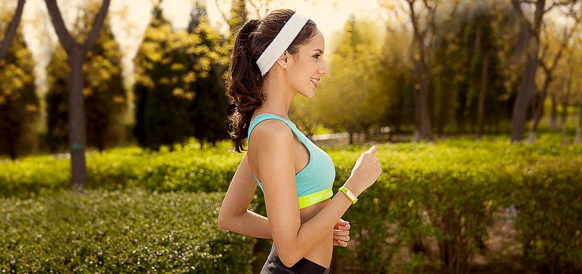 Утренняя пробежка-фитнес-браслет