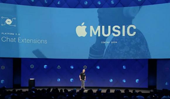 В Facebook появится музыка