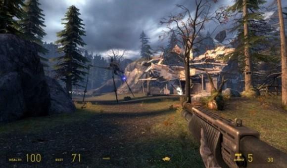 В сеть попало видео Half-Life 2 VR
