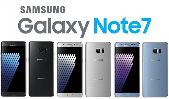 В сеть утекли изображения Samsung Galaxy Note 7 в трех цветовых вариантах