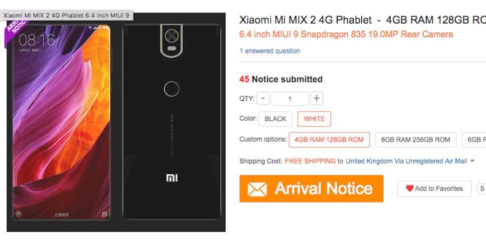 В сеть утекли «живые» снимки безрамочного смартфона Xiaomi Mi Mix 2 - фото 1