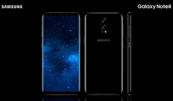 В сети появились «живые» снимки Samsung Galaxy Note 8