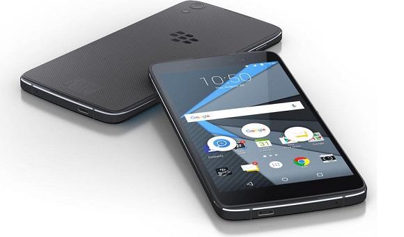 В сети появилось изображение нового смартфона BlackBerry Neon