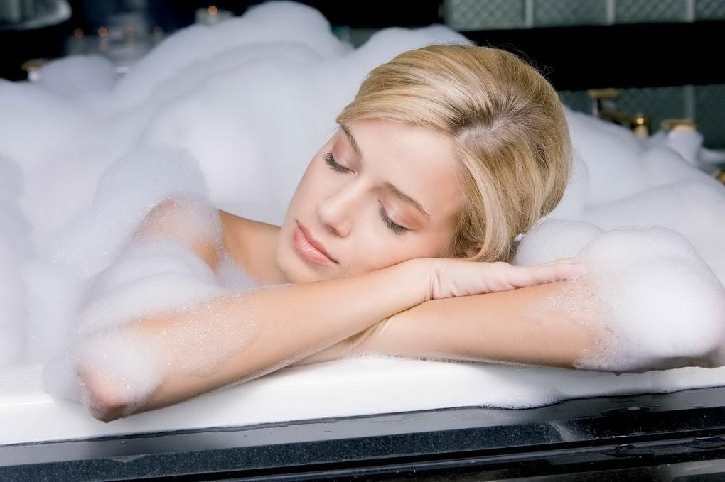 Ванна перед сном-расслабление