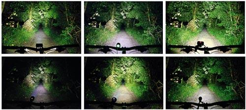 Велосипедный фонарик-режимы