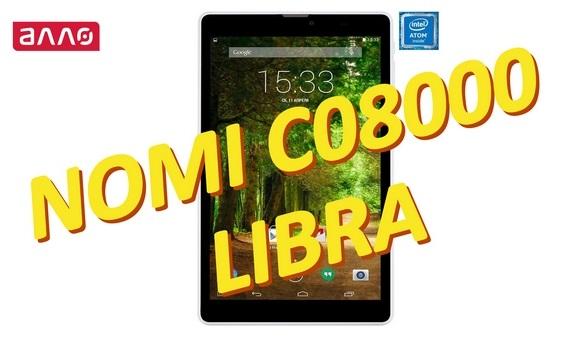 Видео-обзор планшета Nomi C08000 Libra