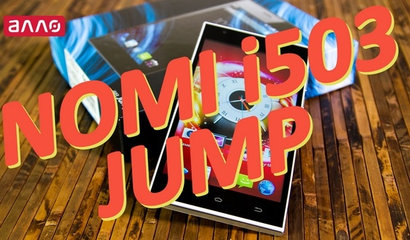 Видео-обзор смартфона Nomi i503 Jump