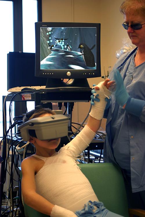 Виртуальная реальность в медицине-фото