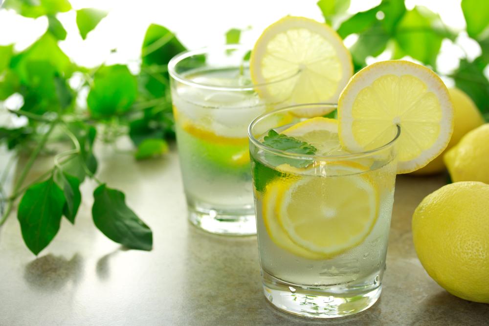 Вода с лимоном-натощак