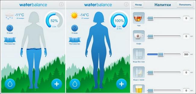 Water Balance-2 функционал