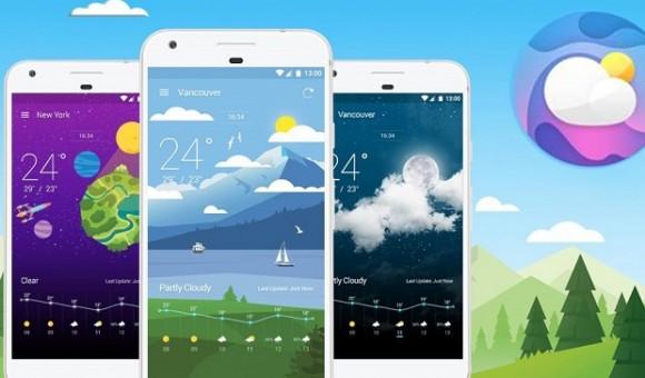 Weather Wiz — одно из лучших погодных приложений для Android