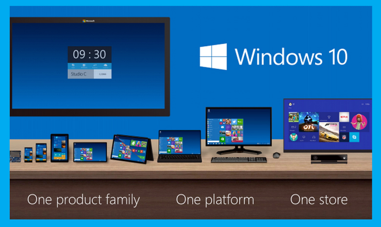 Windows 10-One platform