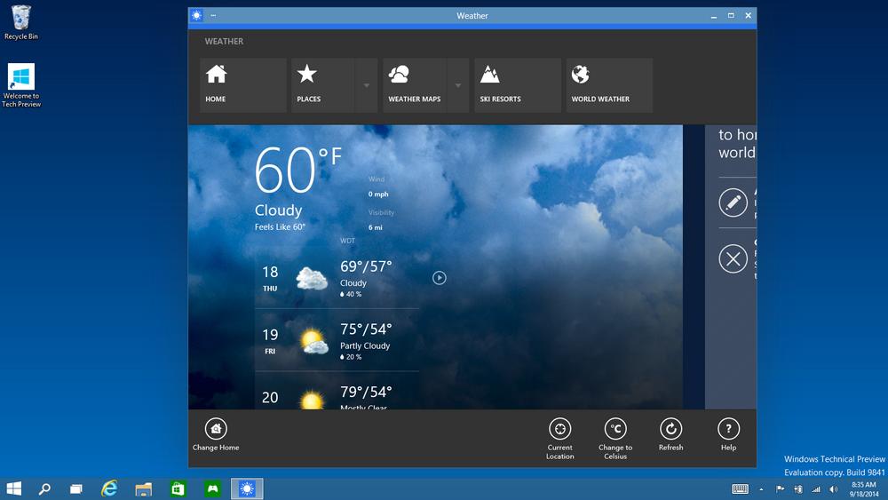 Windows 10-команды приложений