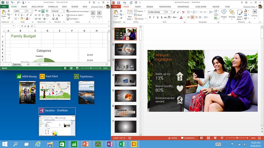 Windows 10-пробные три программы