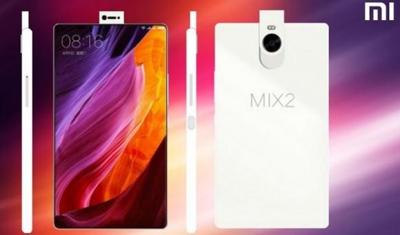 Xiaomi выпустит новый безрамочный смартфон Mi Mix II