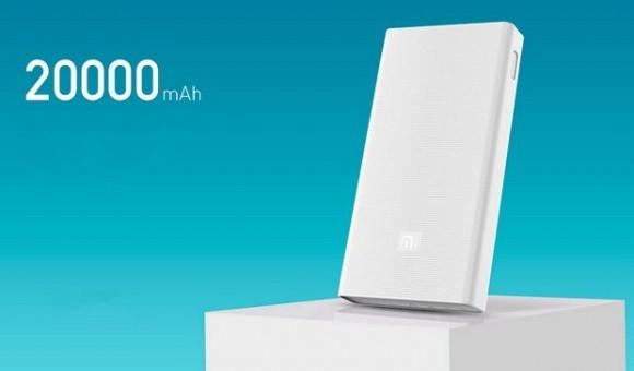 Xiaomi выпустила аккумулятор Mi Power Bank 2 емкостью 20000 мАч с поддержкой Quick Charge 3.0.