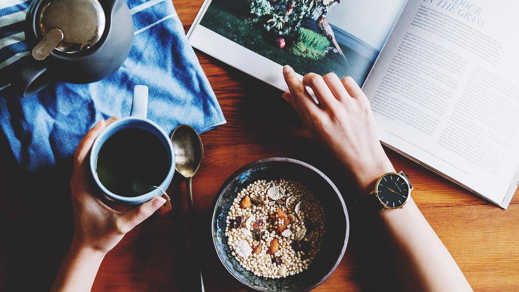 Завтрак-об утренних ритуалах