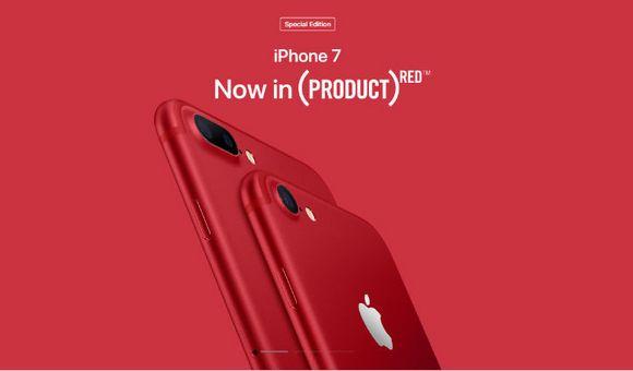 Весеннее обновление Apple. Встречайте iPhone 7 и 7 Plus RED