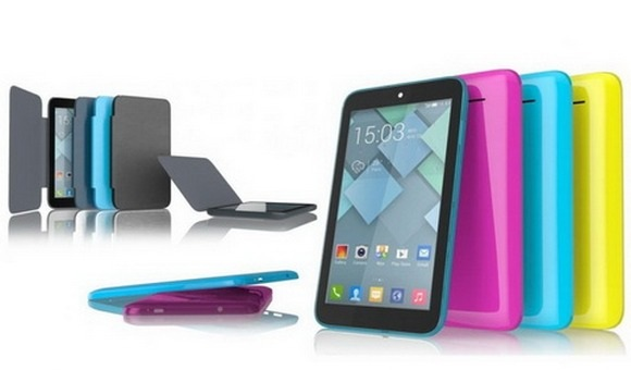 Официальный анонс ультрабюджетного планшета Alcatel One Touch PIXI 7 с MWC-2014