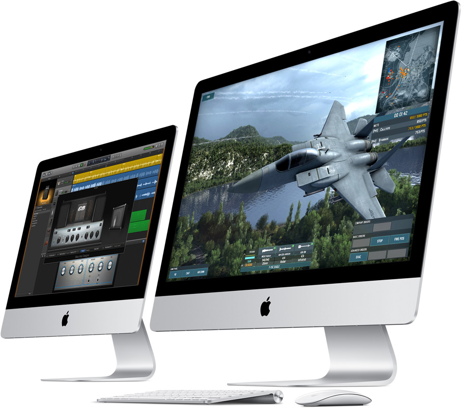 iMac retina-high performance technologies
