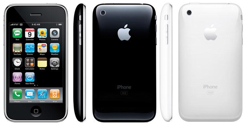 iPhone 3G общий вид 2 цвета