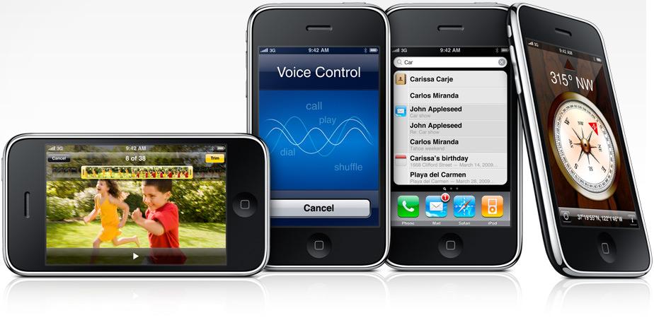 iPhone 3GS новые функции