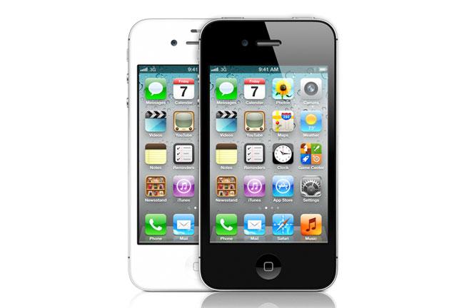 iPhone 4GS черный и белый
