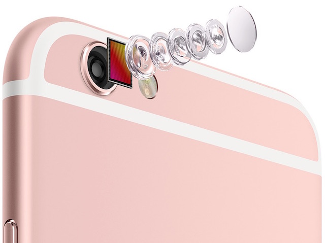 iPhone 6s и iPhone 6s Plus-камера с новой матрицей