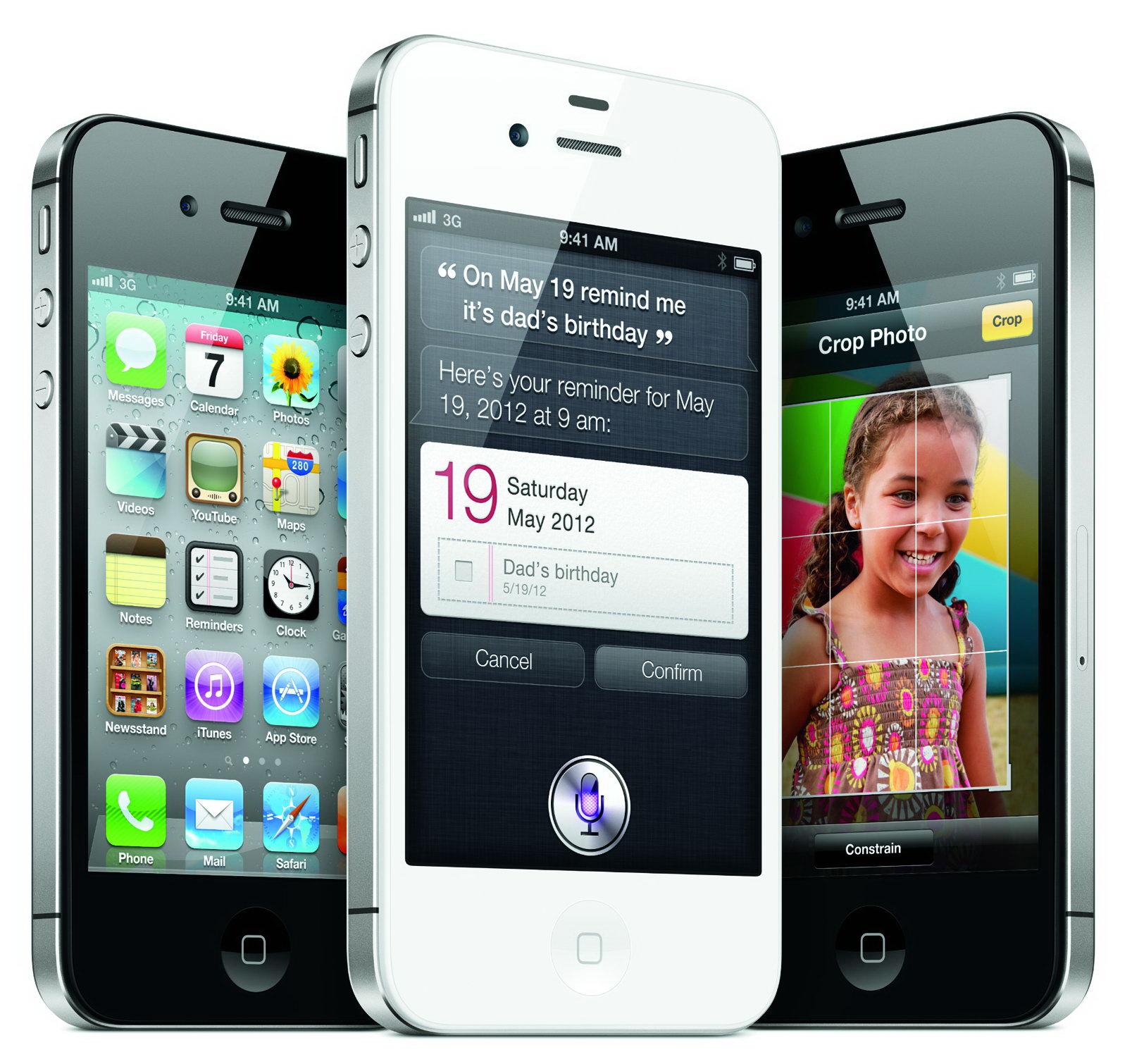 iРhone 4s, внешний вид