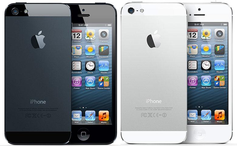 iРhone-5 белый и черный, внешний вид