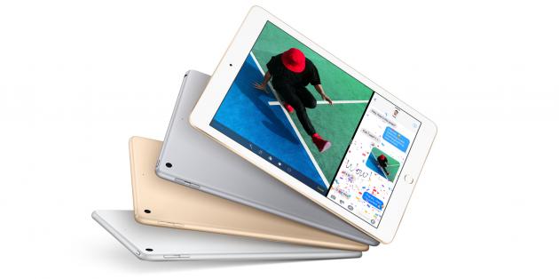 Обзор Apple iPad 2017