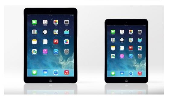 Большой анонс планшетов Apple: полноразмерный 9.7-дюймовый iPad Air и компактный iPad mini с дисплеем Retina