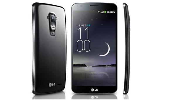 LG G Flex – изогнутый фаблет с шестидюймовым HD-экраном